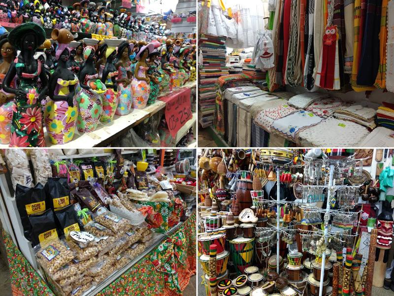 Lojas no Mercado Modelo
