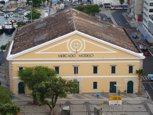 Vista do Mercado Modelo Salvador